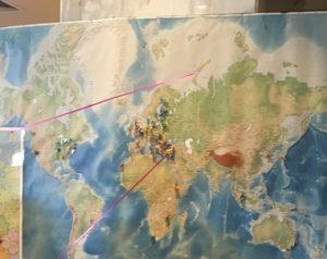 Teilnehmer aus der ganzen Welt