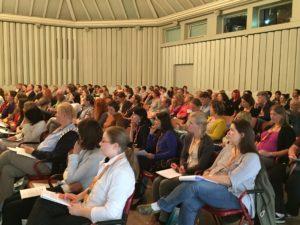 Konzentration im Publikum